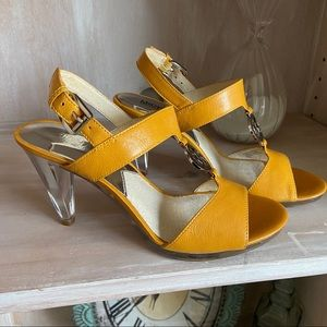 Michael Kors Holly Patent  Heels Shoes NEW 7